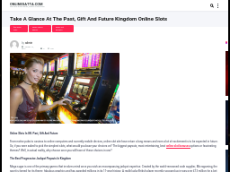 onlinesatta.com/play-the-best-newest-online-slots-games-in-united-kingdom/