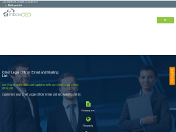 Chief Process Officer Email List   CPO Email Address