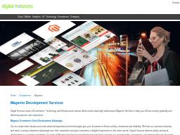 digitalhorizons.net/ecommerce/magento/