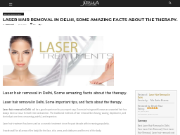 Full Body Laser Hair Removal Cost In Delhi And Ncr Jirua
